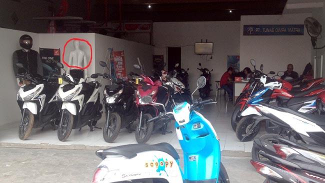Dealer Sepeda Motor Disatroni Maling, Puluhan Juta Raib