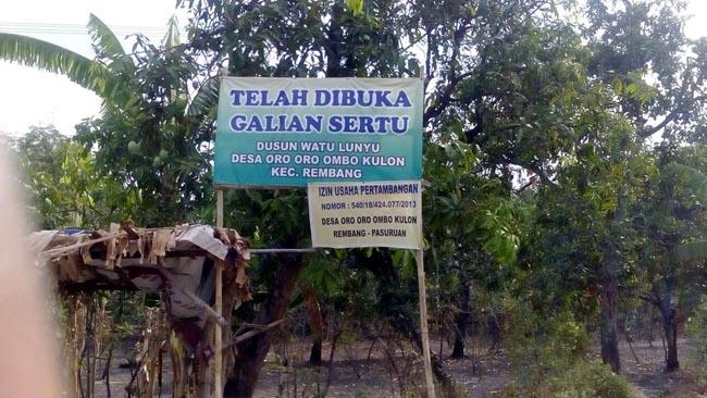 Galian Tambang Oro-Oro Ombo Kulon Nekat Beroperasi