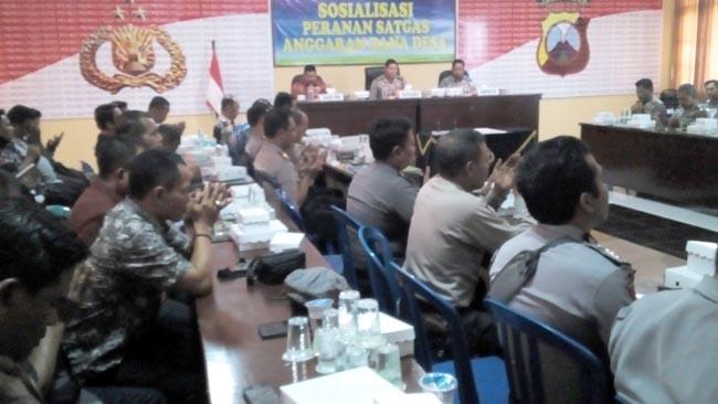 Polresta MoU dan Pemkab Probolinggo Terkait Satgas Anggaran Dana Desa