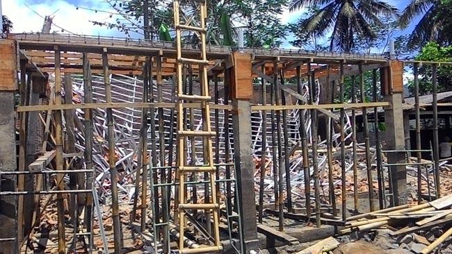 Proyek Bangunan Puskesmas Kalibaru Roboh, Diduga Salah Perencanaan Konstruksi