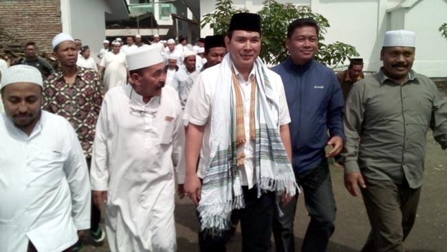 Putra Mantan Presiden Suharto Datangi Haul Habib Husaein Bin Hadi Al Hamid