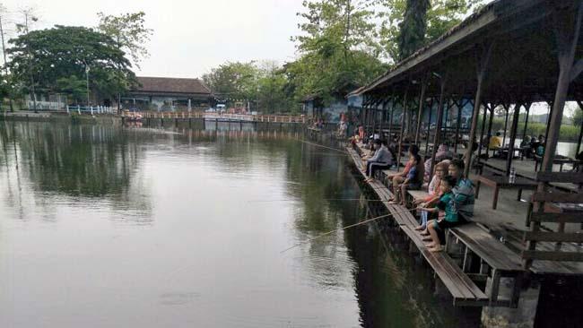 Lokasi Agrowisata Tambak Kusuma Tirta Minapolitan,Desa Kedung Peluk,Candi