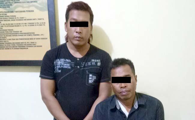 Asyik Pesta Sabu, 2 Warga Siliragung Digerebek Polisi