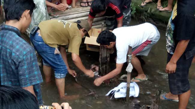 Bayi Perempuan Dibunuh Ibunya, Ditemukan di Sungai Bareng