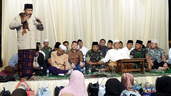 Dandim 0818 Kab Malang-Batu Hadiri Pengajian di Ponpes Az-Zaini Tumpang
