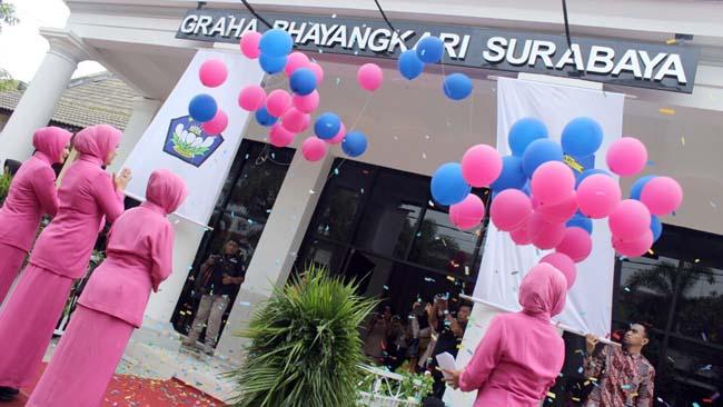 Graha Bhayangkari Surabaya, Gedung Baru Polrestabes Diresmikan