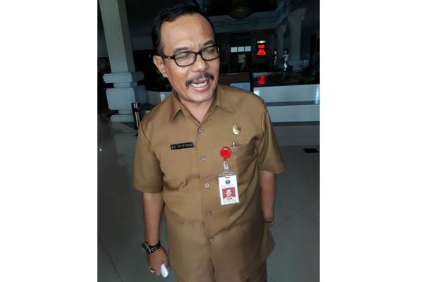 Foto Jarot Edy Sulistyono beberapa bulan lalu saat sebelum ditetapkan sebagai tersangka oleh KPK. (gie)