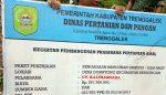 Inspektorat Temukan Kejanggalan Pembangunan Bendungan Air Dilem Wilis