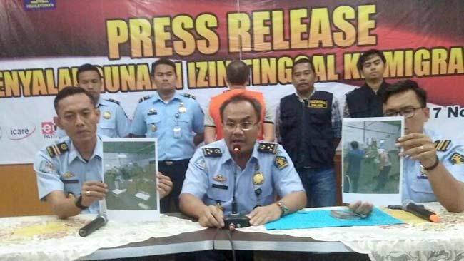 Kerja di Singosari, Warga Tiongkok Ditangkap Petugas Imigrasi
