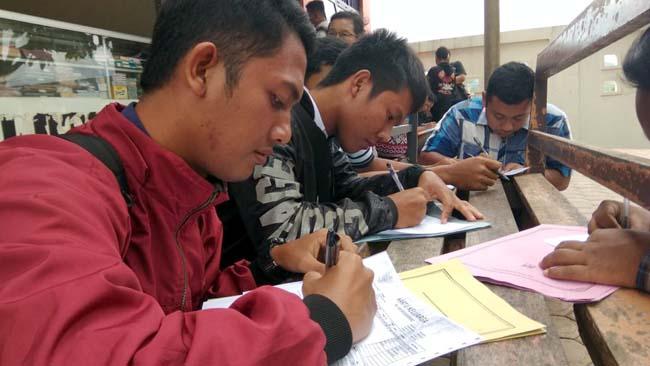 Lowongan Pol PP dan Damkar di Trenggalek, Diserbu Ratusan Pencari Kerja