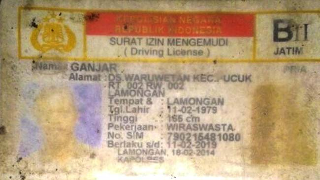 Rem Blong, Tronton Injak Pengendara Motor
