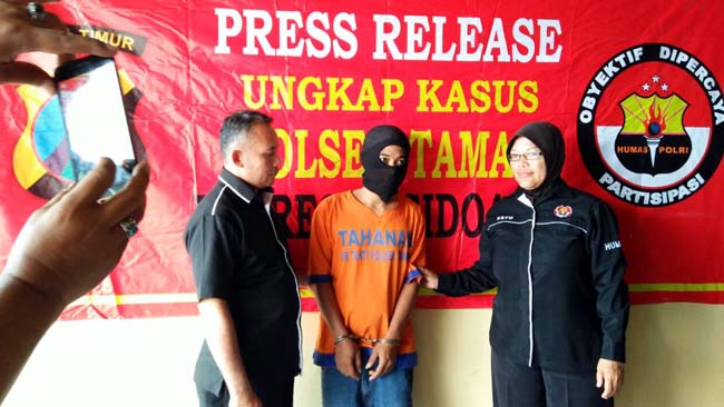 Sales Lampu asal Kapasari Nyambi Jualan Sabu di Kalijaten