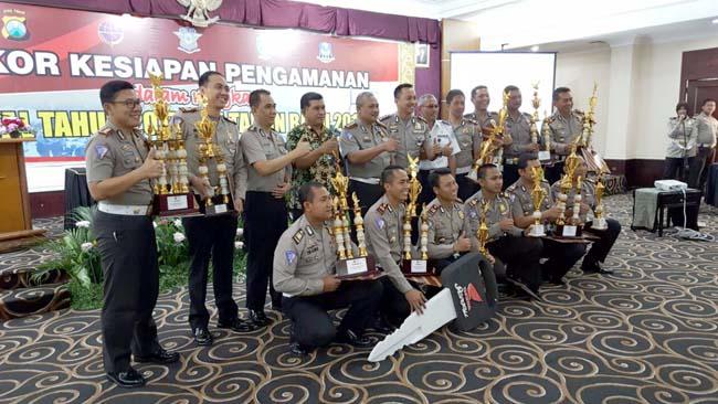 Sat Lantas Polres Malang Sabet Juara III Tipe A+ Ops Zebra Semeru 2017
