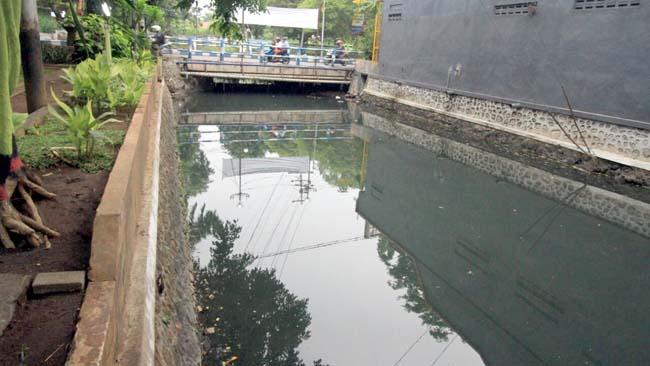 Sungai Umbul Tercemar Kategori Sedang