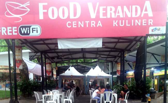 Wisata Kuliner Taman Dayu Food Veranda Nampak Kumuh