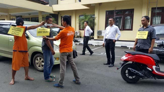 Buron Begal Mobil Travel Nyusul Teman Masuk Bui