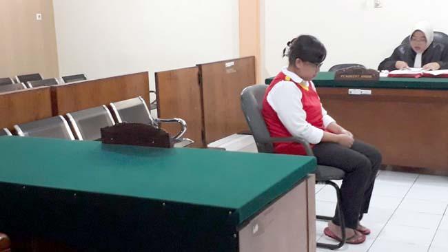 Dijerat 3 Pasal, Mirna Cempluk Divonis 10 Bulan Penjara