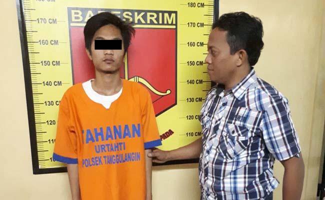 Maling Kacer asal Lolawang Buron 1,6 Tahun Kerja di Pabrik