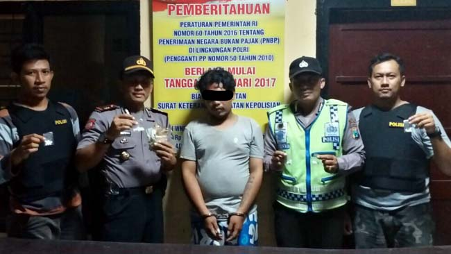 Pengamen Nyambi Edarkan Pil Koplo di Jombang