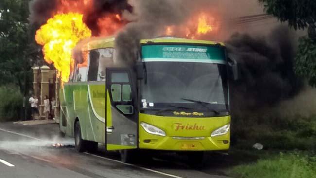 Rombongan SDN Wangkal--Krembung Selamat, Pasca Bus Frizha Ludes Terbakar