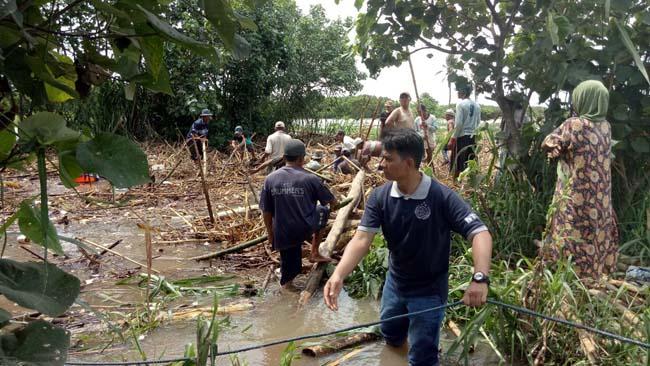 Sungai Bondoyudo Telan Pencari Rumput