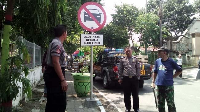 Gara-Gara Mobil Polsek Mayangan Langgar Rambu Lalin Sebabkan Kecelakaan