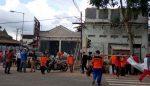 Polisi Olah TKP Rumah Tua Roboh
