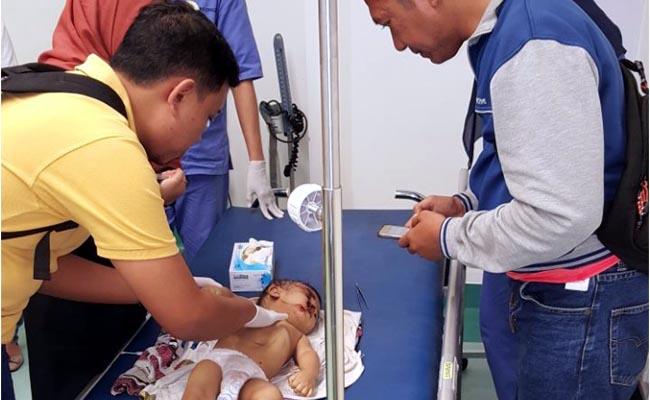 Sadis..! Ayah Tega Bunuh Bayinya, di Ploso Timur-Surabaya