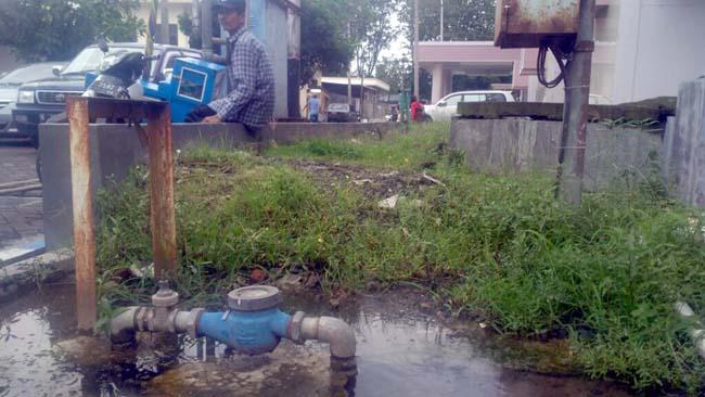 Setelah Diberitakan Pipa Air Bocor di RSUD dr Haryoto Lumajang, Kini Diperbaiki