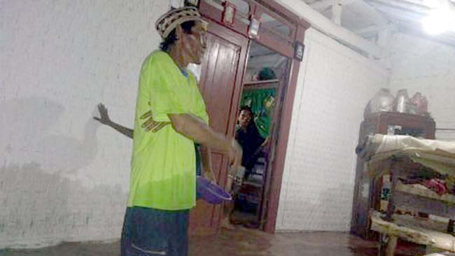 5 Jam Diguyur Hujan Deras, Rumah Warga Tergenang Banjir