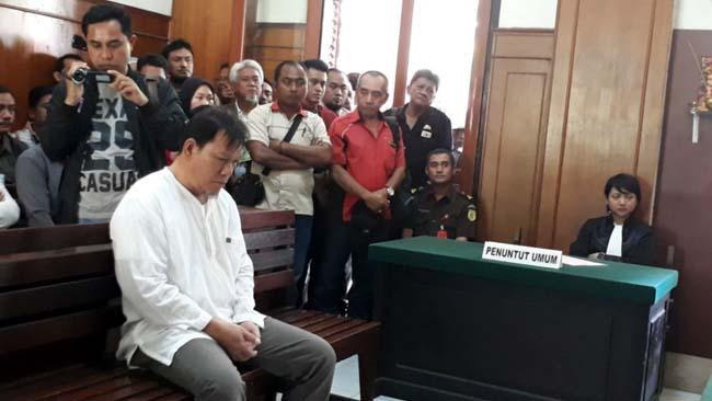 Bos Ekspedisi PT ASL Divonis Bersalah Lakukan Pemalsuan