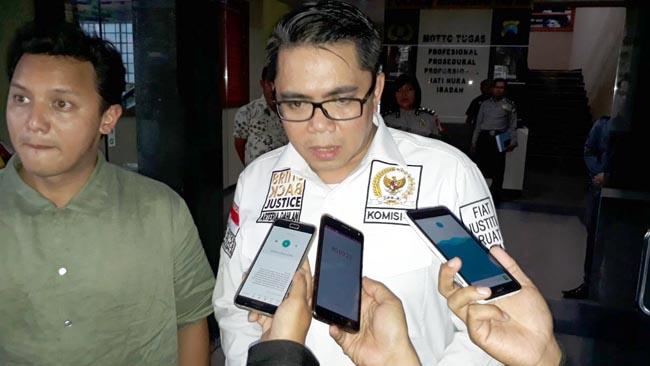 Komisi III DPR RI Minta Polres Malang Kota Siaga Penyerangan Tokoh Agama