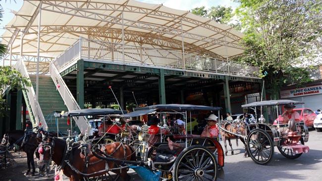 PKL Alun-alun Batu berharap Food Court GOR Ganesha Segera Difungsikan