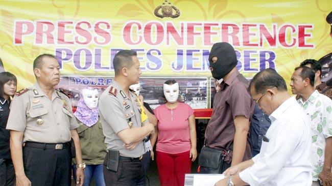 Polres Jember Amankan 4 Korban Human Trafficking asal Banyuwangi