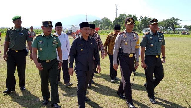 Polres Situbondo Pengamanan Kunjungan Menristek Dikti di Ponpes Salafiyah Syafi'iyah Sukorejo Situbondo