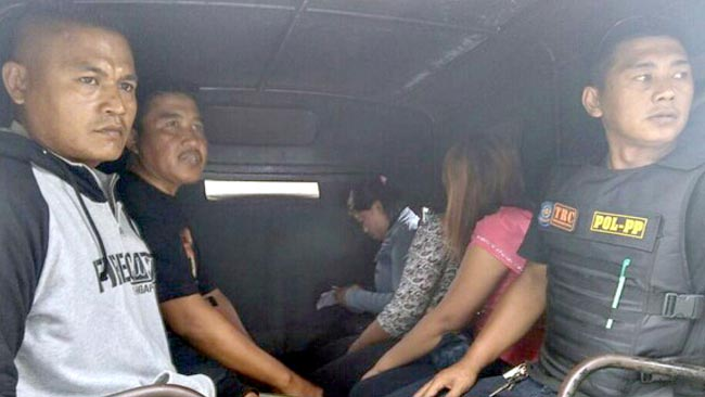 Terjaring Razia 5 PSK dan 1 Mucikari Digelandang Pol PP Probolinggo