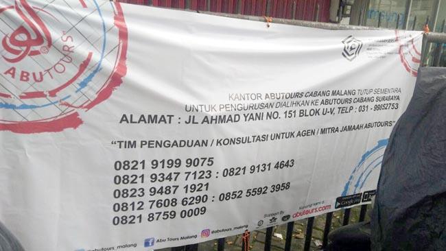 Warga Gagal Umroh, Polisi Segera Periksa Pihak Abu Tours