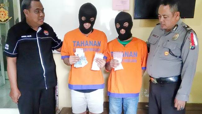 Dua Budak Narkoba Jual Pil Koplo di Tanggulangin
