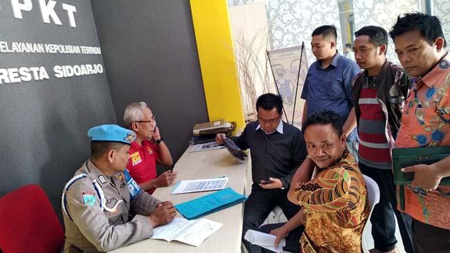 Panitia Pilkades Sidokepung Dilaporkan ke Polresta Sidoarjo