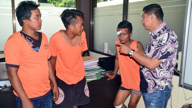 Curanmor Spesialis Kendaraan Pinggir Sawah Ditembak Resmob Banyuwangi