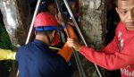 Warga Tirtoyudo dan PMI Selamatkan Korban Percobaan Bunuh Diri Masuk Sumur
