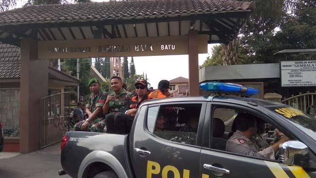 Patroli Gabungan Polisi, TNI dan Ormas Demi Keamanan Pasca Teror Bom Surabaya