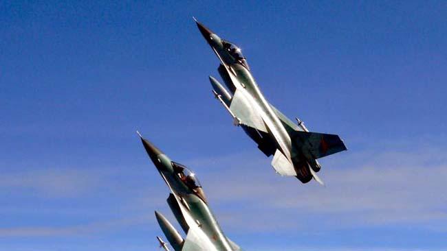 TNI AU Hancurkan Empat Pesawat Tempur Asing di Natuna
