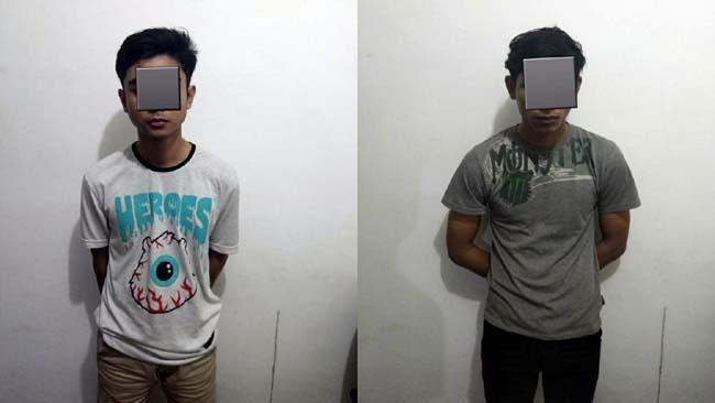 Asik Nyabu di Kamar Kos, Dua Pemuda Digelandang Polisi