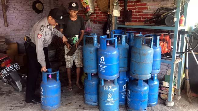 Sehari Produksi 4 Tabung Gas