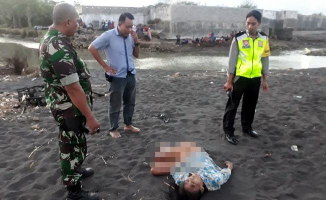 Perempuan Tergeletak Tanpa Nyawa di Pantai Pondok Nongko
