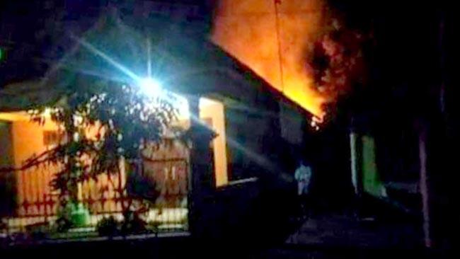 Rumah Warga Blitar Terbakar, Diduga Lupa Matikan Api Usai Masak