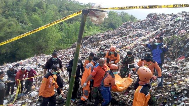TPA Supit Urang Longsor, Korban Ditemukan Terpendam 4 Meter