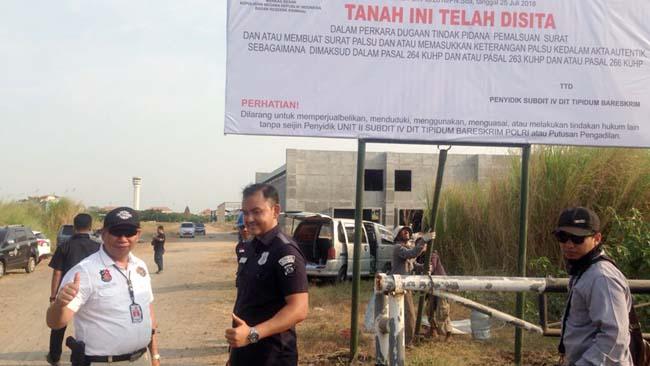 Bareskrim Sita Lahan Sengketa Puskopkar 24 Hektar di Kawasan Juanda