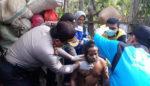 Kapolres Trenggalek Eksekusi Pembebasan ODGJ di Tugu